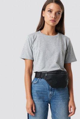 NA-KD Basic Basic T-Shirt - Grey