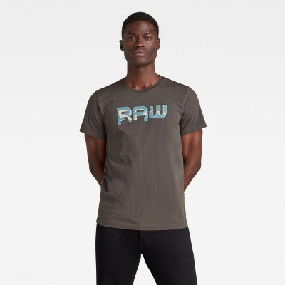 G-Star RAW RAW. HD T-Shirt - Grijs - Heren