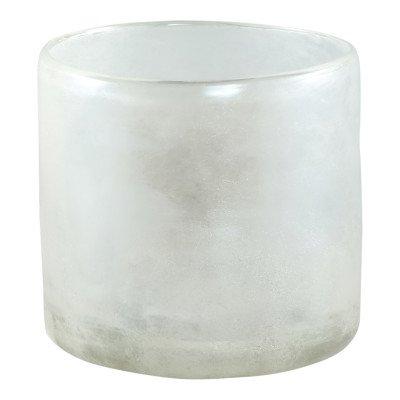 Ptmd tuxx wit mat glass vase round big s
