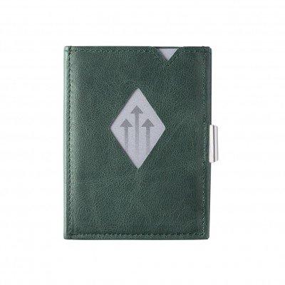 Exentri Exentri Leather Wallet Emerald Green