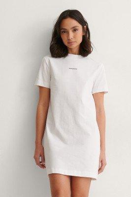 Calvin Klein Calvin Klein T-Shirtjurk - White