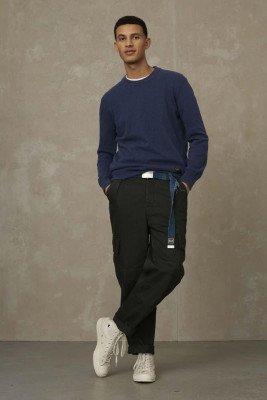 Kings of indigo Kings of Indigo - HIDEO knitwear Men - Darkblue