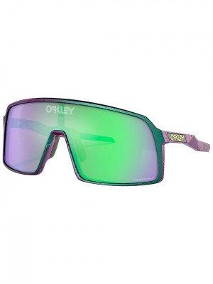 Oakley Oakley Sutro Green Purple W Splatter Sunglasses groen