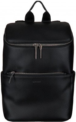matt en nat Zwarte Matt & Nat Rugtas Brave Backpack