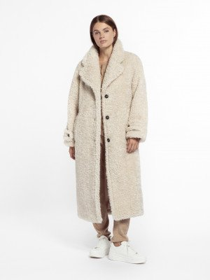 Beaumont Beaumont Oversized teddy - Off White