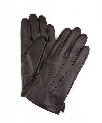 Profuomo Profuomo heren bruin leren handschoenen