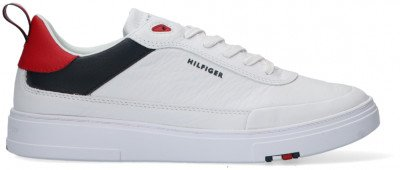 Tommy Hilfiger Witte Tommy Hilfiger Lage Sneakers Modern Cupsole