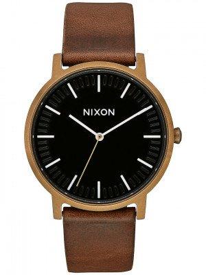 Nixon Nixon The Porter Leather bruin