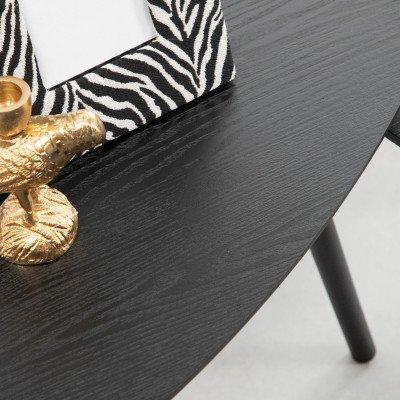 WOOOD WOOOD Bijzettafel 'Nila' Set van 2 stuks, kleur Zwart