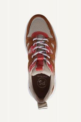 Poelman Poelman Sneaker Cognac LPYEAR-07POE