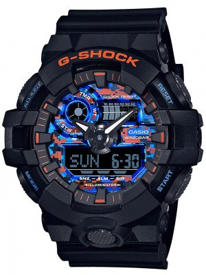 G-SHOCK G-SHOCK GA-700CT-1AER Watch zwart
