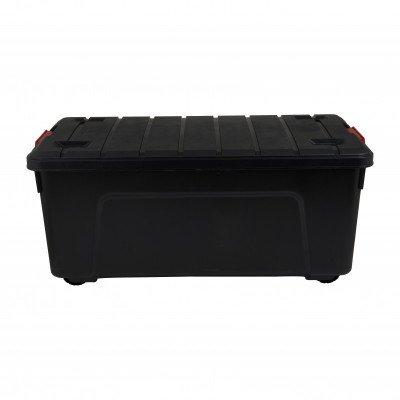 Xenos Clipbox black - 80 liter - 78x39x35 cm