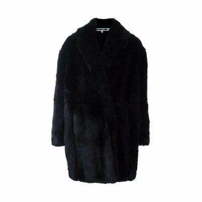 alexander mcqueen Oversized Faux Fur Coat