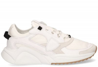 Philippe Model Philippe Model Eze Mondial Reseau Wit Herensneakers
