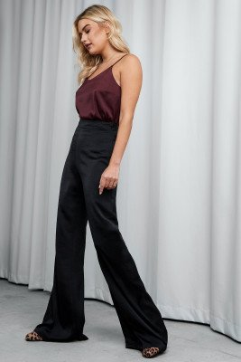 XLE the Label XLE the Label Meredith Palazzo Pants - Black