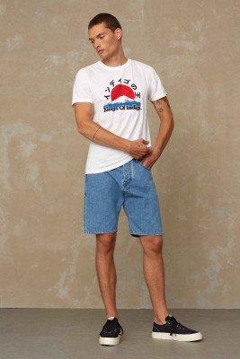 Kings of indigo Kings of Indigo - LUCIUS SHORT shorts Male - Blue