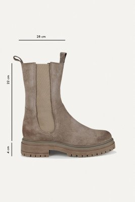 Shoecolate Shoecolate Chelsea boot Taupe 8.20.08.850