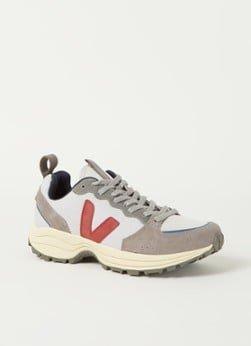 Veja Veja Venturi sneaker met suède details