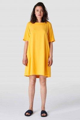 Kings of indigo Kings of Indigo - TEN dress Female - Yellow