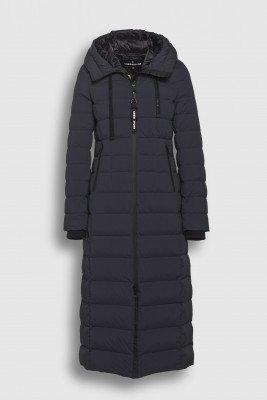 Creenstone Creenstone Long hooded puffer - Night Blue