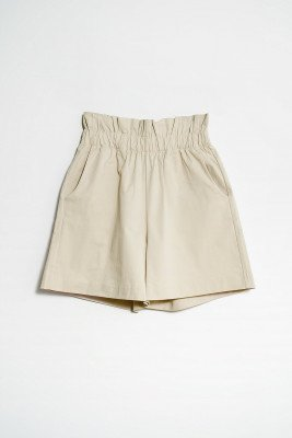 nu-in Paperbag Waist Pull On Shorts