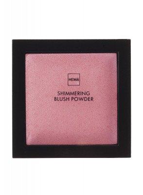 HEMA Shimmering Blush Powder Preppy Pink (roze)