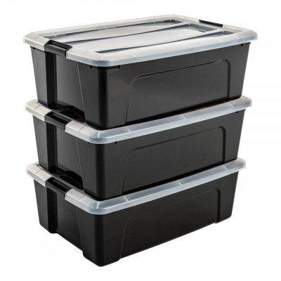 Iris Iris New Top opbergbox - 3 stuks - 30 liter