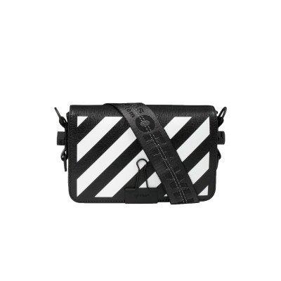 Off-White Off-White Binder Clip Bag Diag Mini Black White