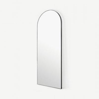 MADE.COM Arles grote staande spiegel, 65 x 170 cm, matzwart