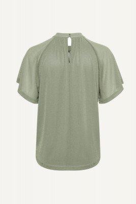 Saint tropez Saint Tropez Shirt / Top Groen 30511192