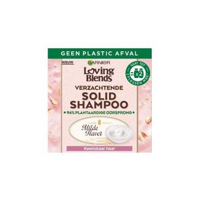 Garnier Garnier Loving Blends Milde Haver Solid haarshampoo 65g