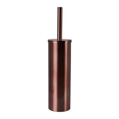 Xenos Toiletborstel - koper - ø8.9x8.3x40 cm