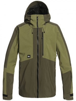 Quiksilver Quiksilver Forever Stretch Jacket bruin