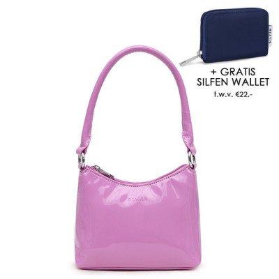 Daniel Silfen Daniel Silfen Handbag Ulle Patent Light Purple