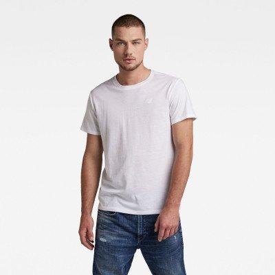 G-Star RAW Basic T-Shirt 2-Pack - Wit - Heren