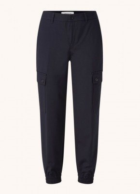 drykorn DRYKORN Freight high waist tapered fit cropped cargobroek