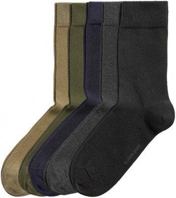 Bjorn Borg Bjorn Borg Essential 5-Pack Sokken Multicolour
