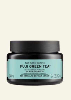 The Body Shop NL Fuji Green Tea™ Scrub Shampoo 240 ML