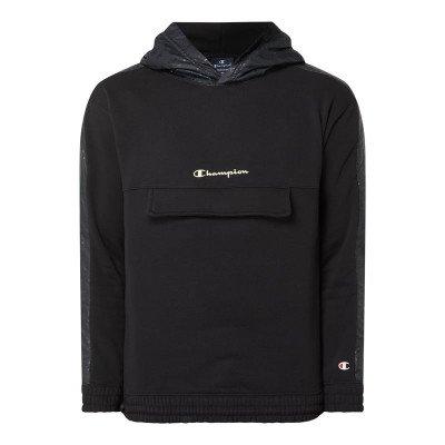 Champion Custom fit hoodie met logodetails
