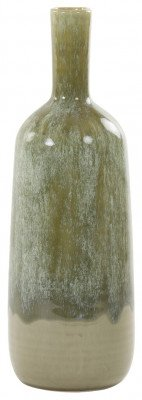 Light en Living Light & Living Vaas 'Mariela' 41cm, kleur Olijfgroen