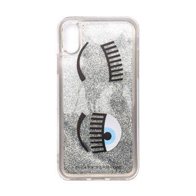 Chiara Ferragni Collection Cover per Iphone X/xs flirting liquid glitter