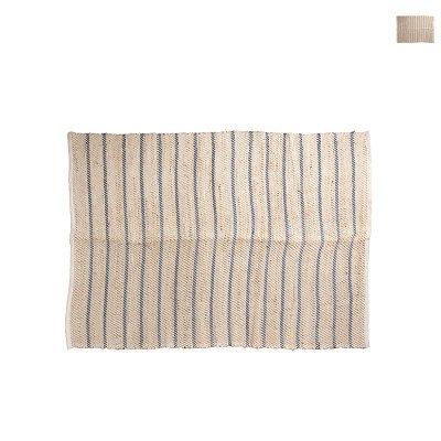 Xenos Vloerkleed naturel gestreept - diverse kleuren - 200x125 cm