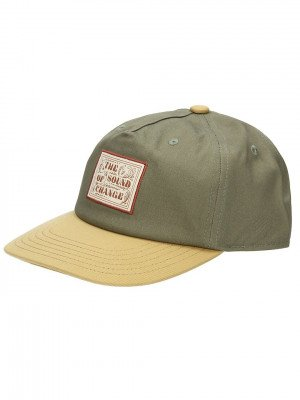 Rhythm Label Cap groen