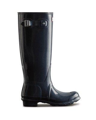 Hunter Boots Women's Original Tall Gloss Wellington Boots