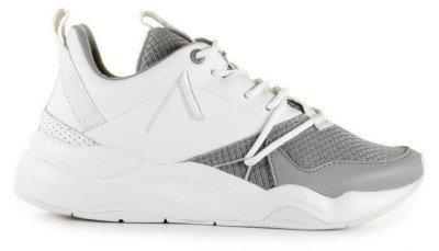 ARKK ARKK Asymtrix Mesh F-PRO-90 Wit/Grijs Damessneakers