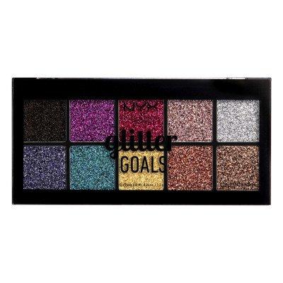 NYX Professional Makeup Glitter Goals Cream Pro Palette Oogschaduw 102.39 g