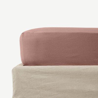 MADE.COM Tira hoeslaken van linnen en katoenmix
