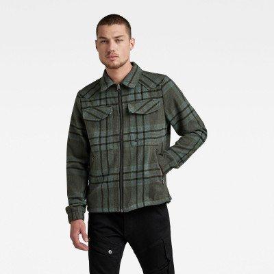 G-Star RAW Check Overshirt Jack - Meerkleurig - Heren