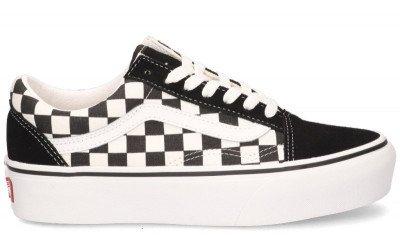 Vans Vans Checkerboard Old Skool Platform VNOA3B3UHRK Damessneakers