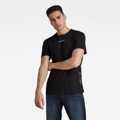 G-Star RAW Sport A Tape T-Shirt - Zwart - Heren